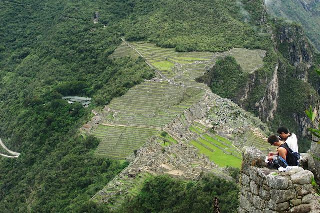 Machu Picchu visto de Huayna Picchu