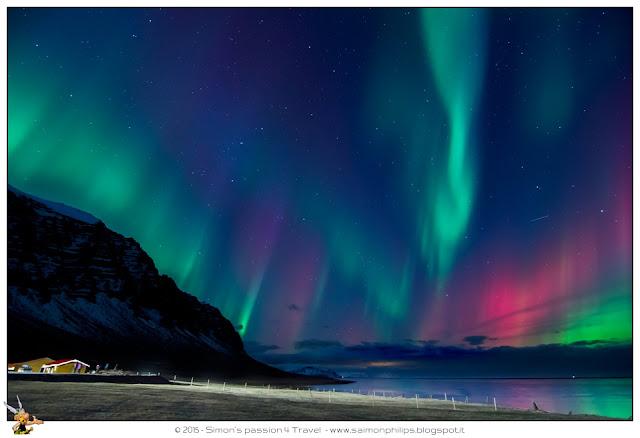 fotografare l'aurora boreale - islanda 2014