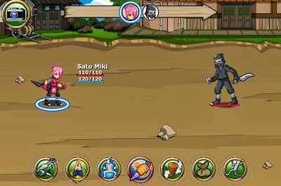 Download Ninja Saga Android Game
