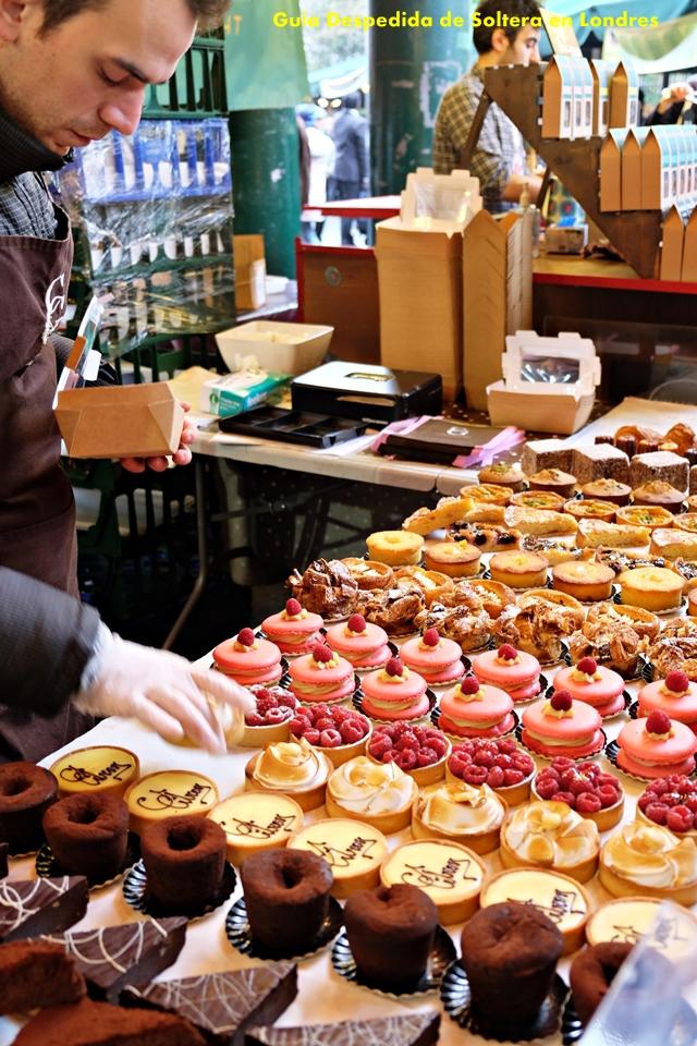 borough market - donde comer - guia despedida soltera londres