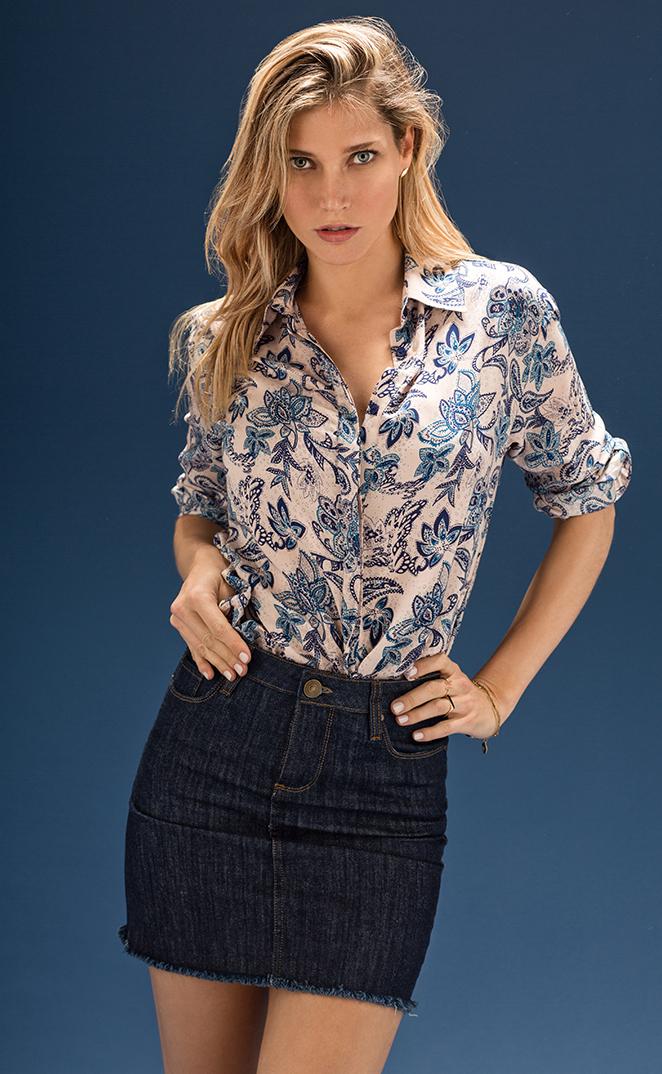 Camisas femeninas y urbanas primavera verano 2018. Moda primavera verano 2018 para mujer. Moda 2018.