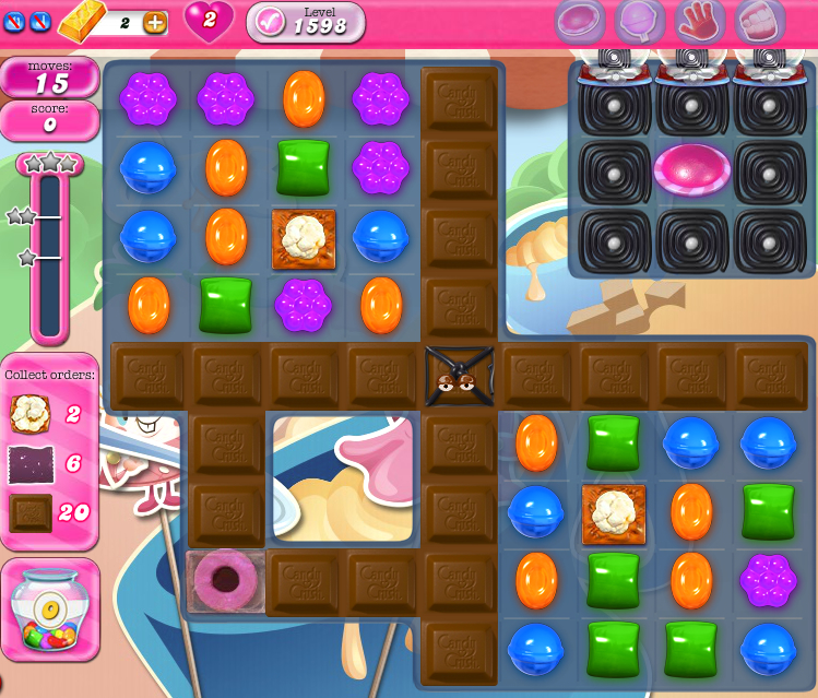 Candy Crush Saga 1598