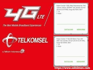 Paket Internet Telkomsel Murah 1 Bulan Kuota Besar Untuk Kartu As