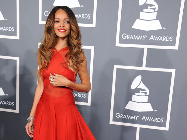 Grammys: Flores Para Chic: Febrero 2013