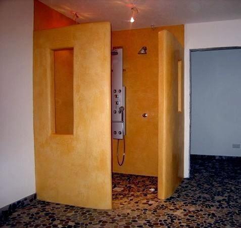 tadelakt profi tadelakt im high tech badezimmer. Black Bedroom Furniture Sets. Home Design Ideas