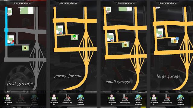 ats google maps navigation night version v1.6 screenshots 3