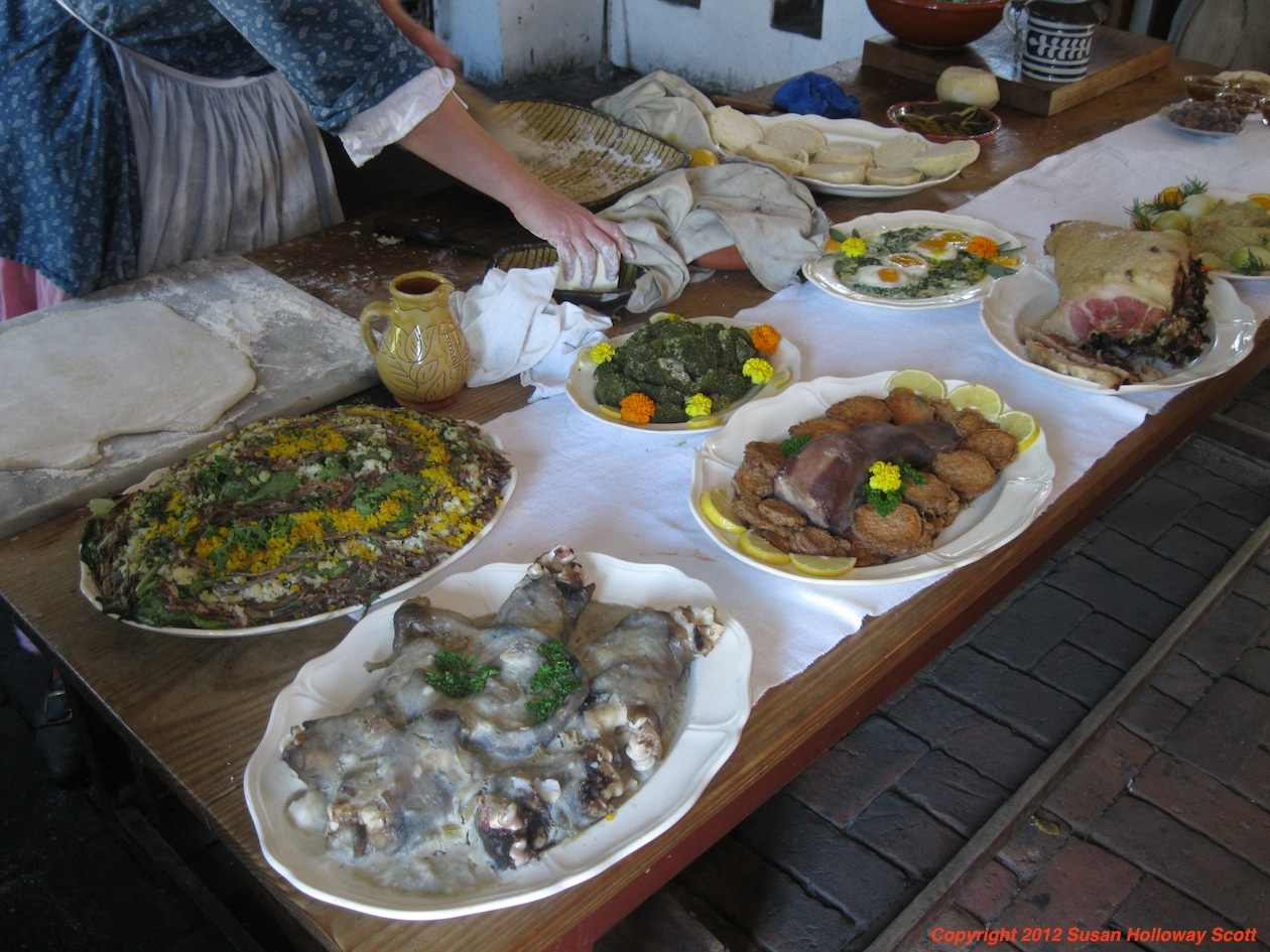 Colonial New York Food Recipes