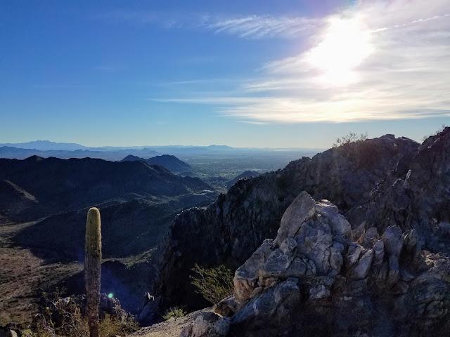 View from Piestewa Peak Phoenix