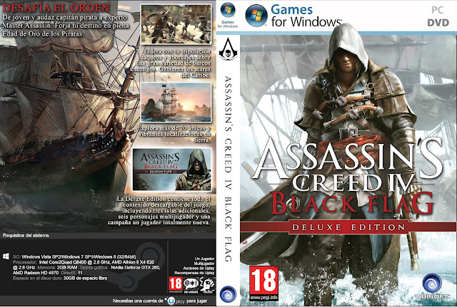 Capa Assassins Creed Black Flag Deluxe Edition PC