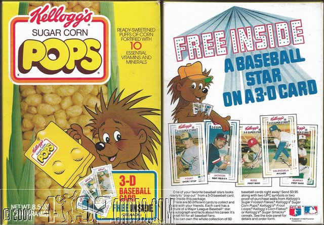 Collecting The 1980s 1980 1983 Kelloggs 3 D Super Stars
