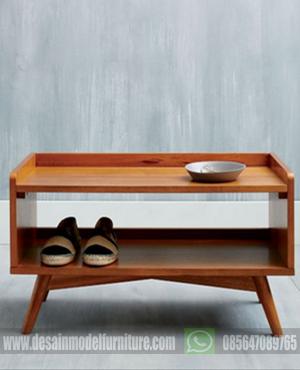 Meja Tv retro minimalis kayu jati jepara