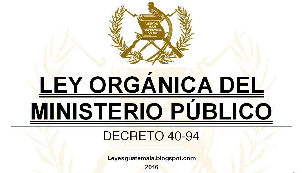 Leyes acuerdos y temas de guatemala ley org nica del for Ley de ministerios