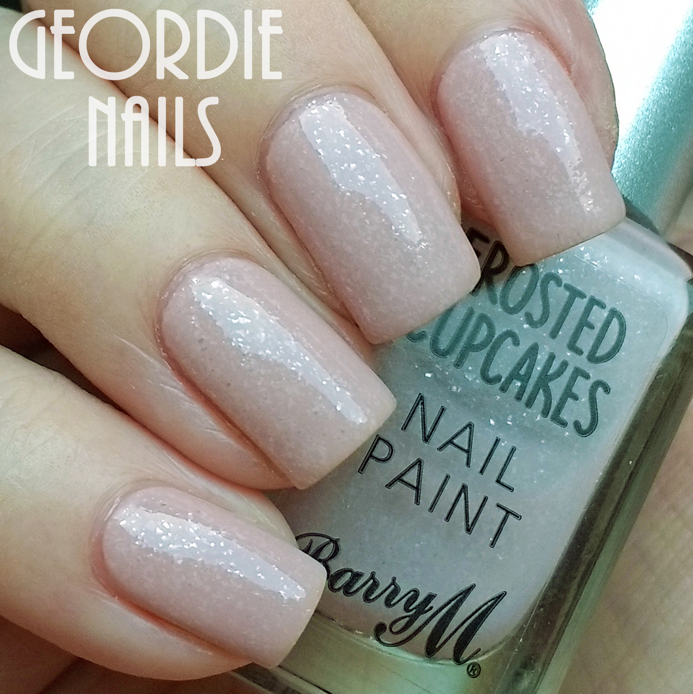 Geordie Nails: Barry M ~ Frosted Cupcakes