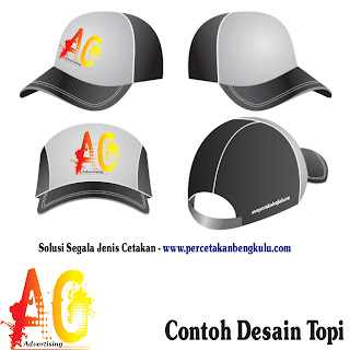 Contoh Desain Topi
