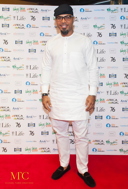 Ramsey Nouah 76 Movie premiere London