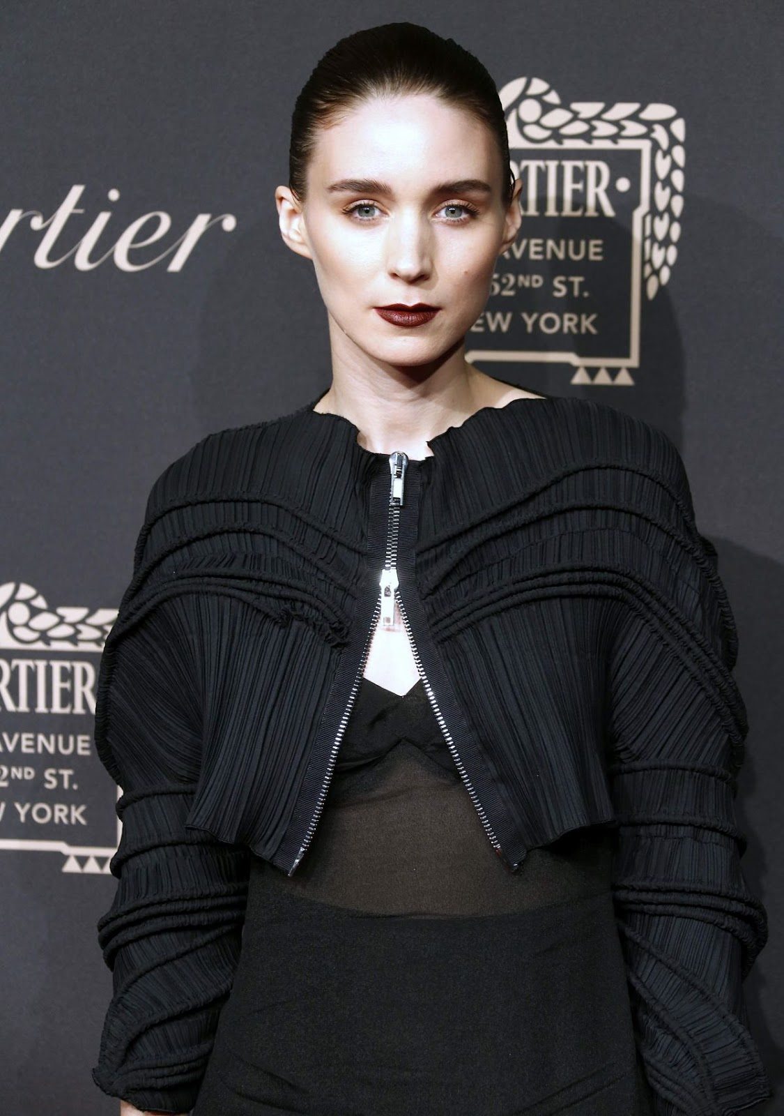 HQ Photos of Rooney Mara At Cartier Store Grand Reopening On Fifth Avenue In New York
