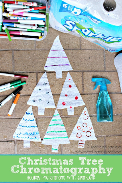 The Educators' Spin On It: Christmas Tree Chromatography : Holiday Preparations with Sparkle®