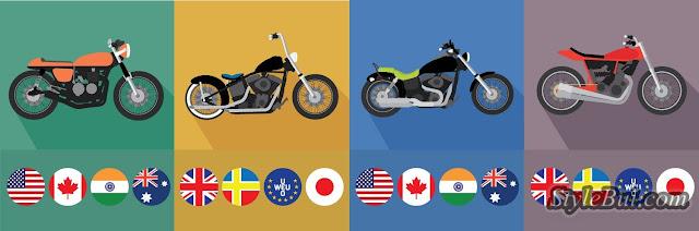 Tất cả những phong cách độ xe hiện nay theo chuẩn quốc tế