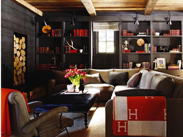 Cutting-edge studio rental layout - Urban Masculine Decor In An Apartment