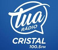 Tua Rádio Cristal FM 100.5 de Soledade RS