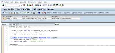 Creating HANA DB based SAP Netweaver Gateway Service