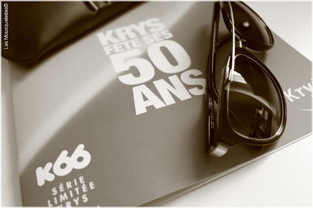 K66 Lunettes de soleil édition limitée Krys anniversaire 50 ans - Blog beauté Les Mousquetettes©