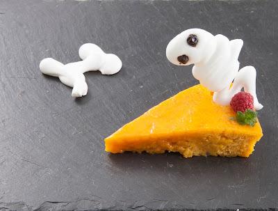 Cake de naranja y calabaza con glaseado