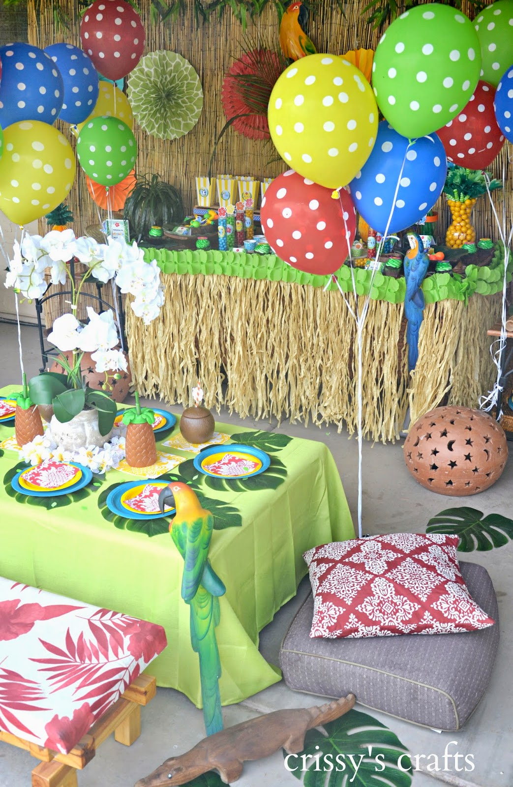 Crissy S Crafts Rio 2 Inspired Party