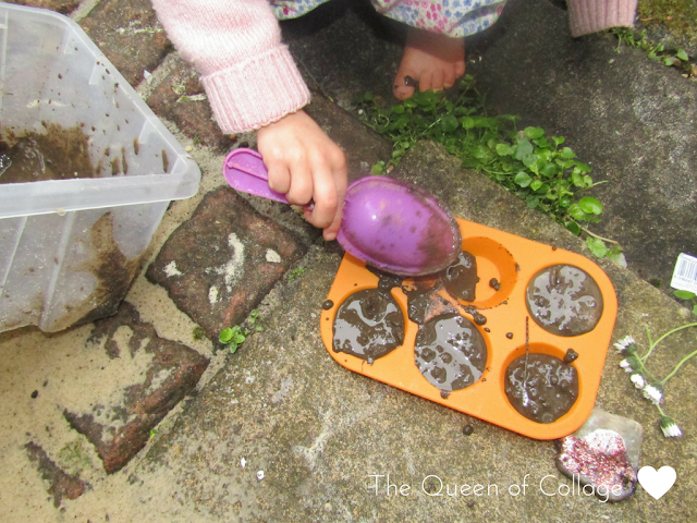 Making Messy Mud Pies
