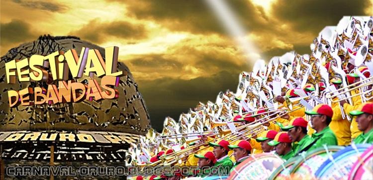 Festival de Bandas de Oruro, información, noticias
