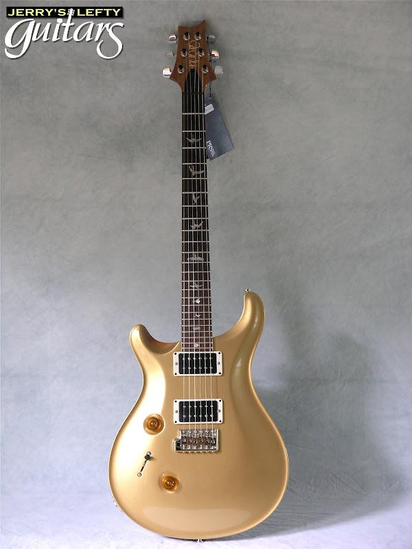 jerry 39 s lefty guitars newest guitar arrivals updated weekly prs custom 24 goldtop left handed. Black Bedroom Furniture Sets. Home Design Ideas