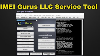 Imei Gurus LLC Service Tool v6.6.9 Full Activated Free Download