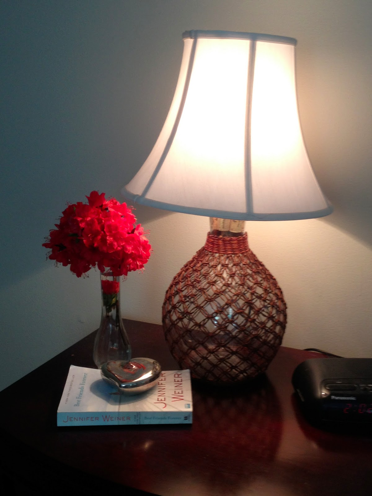 Two It Yourself: DIY lamp from a jar or bottle (without