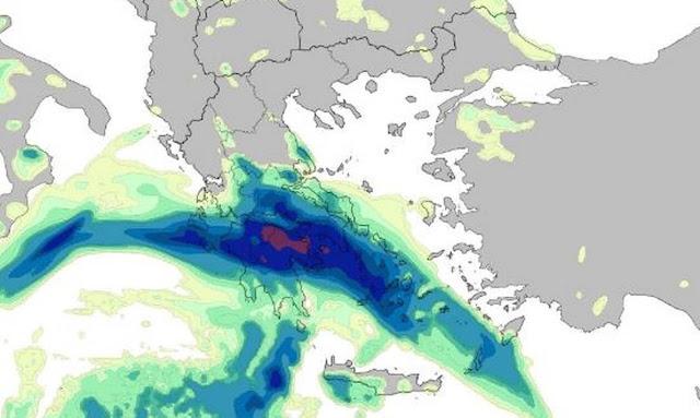 Προσοχή τις επόμενες ώρες: Ισχυρά φαινόμενα με καταιγίδες, χαλαζοπτώσεις και πολύ ενισχυμένους ανέμους