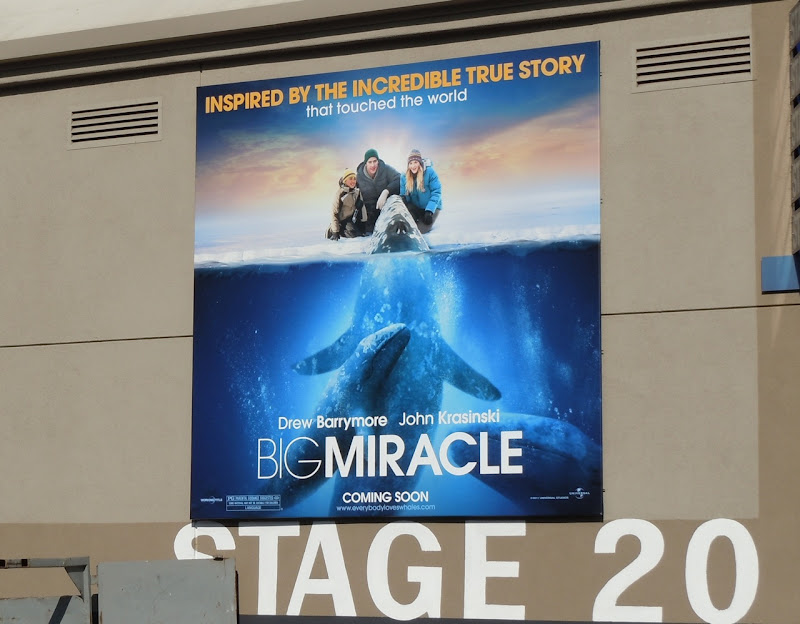 Big Miracle movie billboard