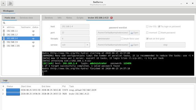 badKarma - Advanced Network Reconnaissance Toolkit For Penetration Testing