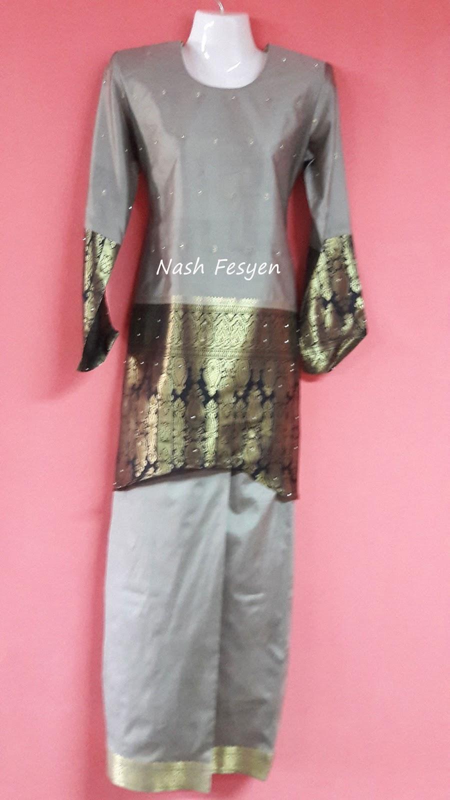 Nash Fesyen Baju Kain Sari Untuk Tema Raya 2016