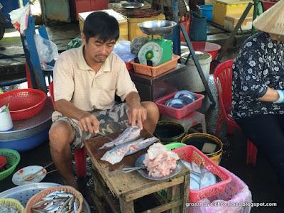 filetting fish