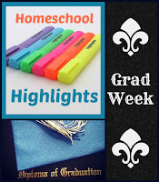 Homeschool Highlights - Grad Week on Homeschool Coffee Break @ kympossibleblog.blogspot.com