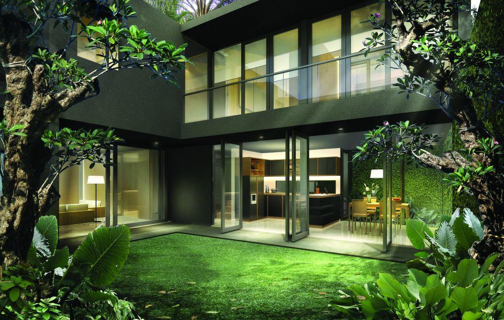 Interior Design of a Minimalist Tropical House | Home Corner