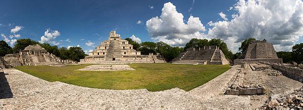 Zona Arqueológica, Edzná Campeche
