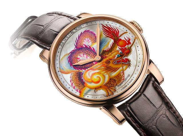 Arnold & Son Métiers d'Art Dragon