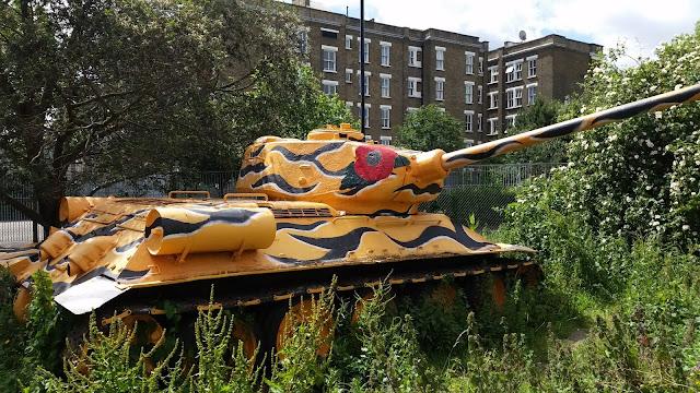 T-34 Tank in Southwark