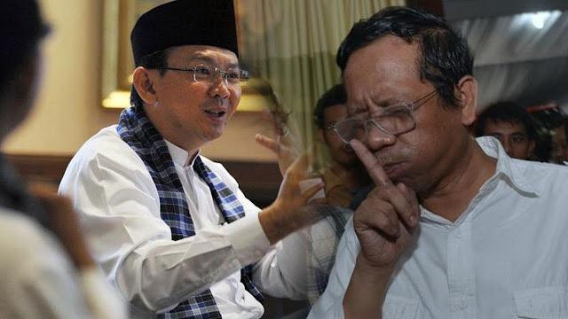 Keputusan Jokowi Menyakiti Pendukung Ahok Dan Mengecewakan Pendukung Mahfud