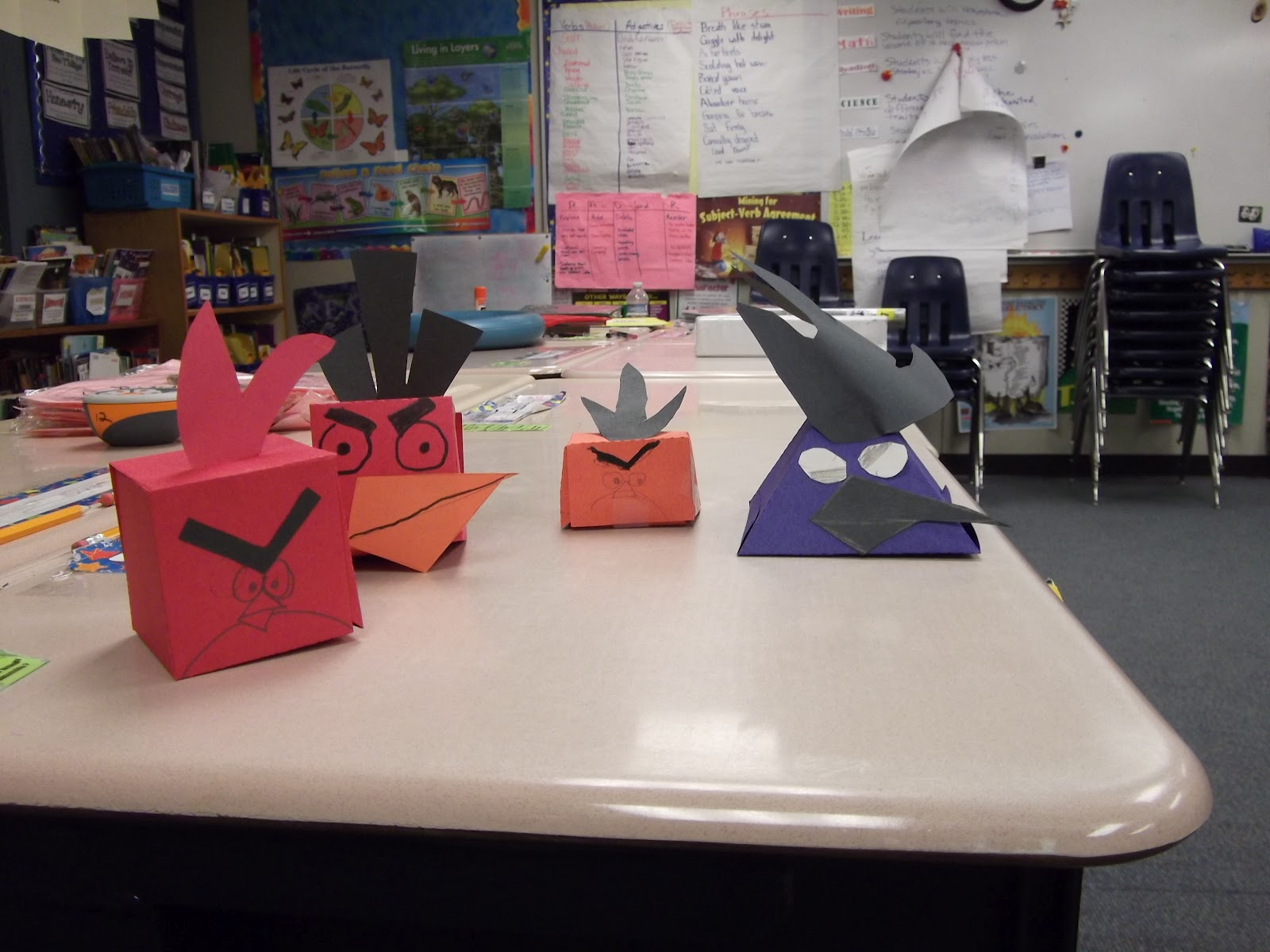 Ms Choy S Classroom Blog Angry Birds 3 D Shapes