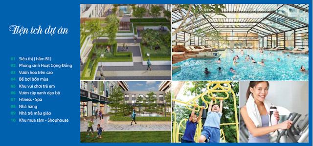 Tiện ích hoàn hảo dự án EuroWindow River Park