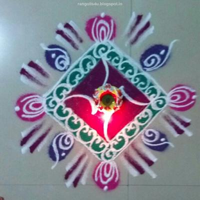Indian Festival Rangolis