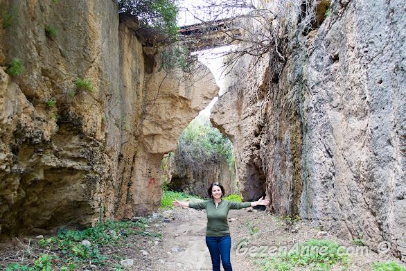 insan eliyle yapılmış olan 7 metre yüksekliğindeki kanal, Titüs tüneli Hatay