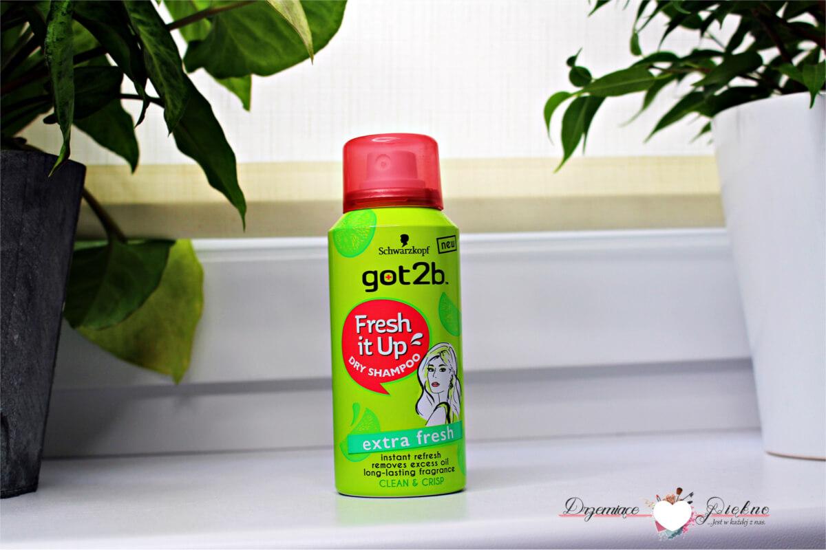 Schwarzkopf Got2b, Fresh It Up!, Extra Fresh, Dry Shampoo Suchy szampon - Denko Styczeń 2018