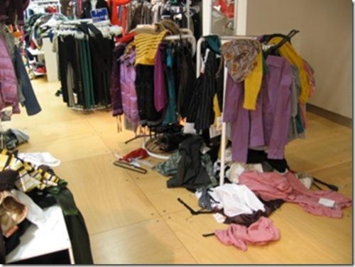 En los probadores de un cc shopping and flashing - 1 2